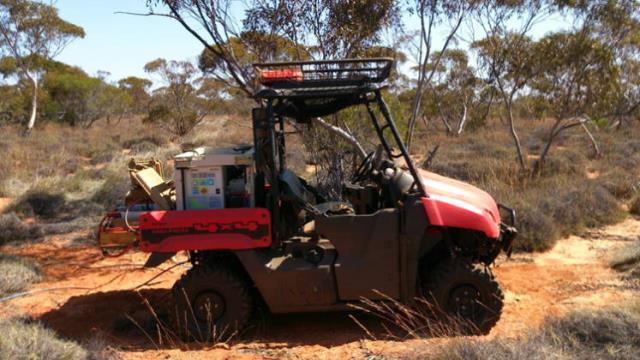 EMTX-200 on vehicle