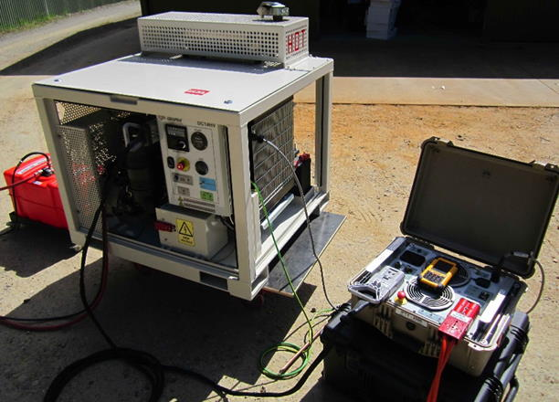 IPTX-2500 Transmitter with DC14HV Genset