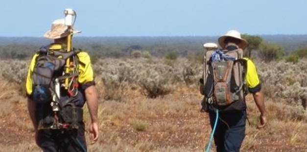 SAM survey walking